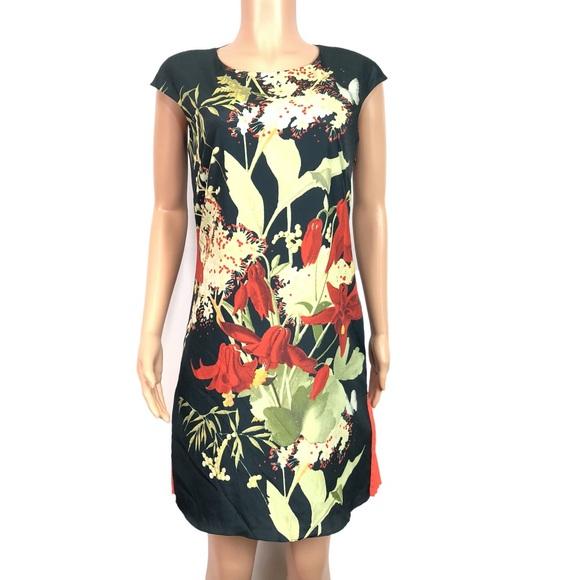 f620accd1b23d Ted Baker flor Ruffled drop waist dress